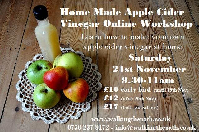 apple cider vinegar workshop